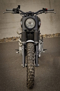 JVB Rumbler kit Bonneville/Scrambler NO CUT - 3