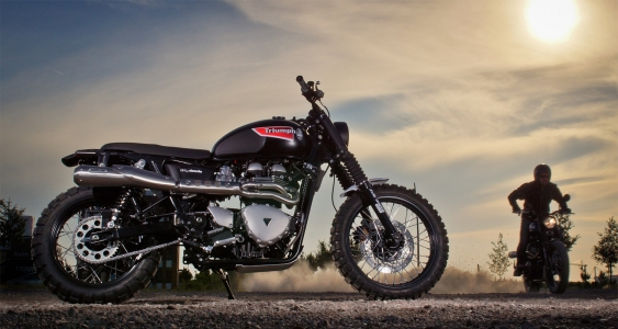 JVB Rumbler kit Bonneville/Scrambler NO CUT - 6