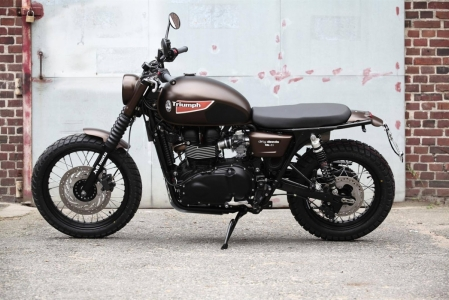 JVB Rumbler kit Bonneville/Scrambler NO CUT - 8