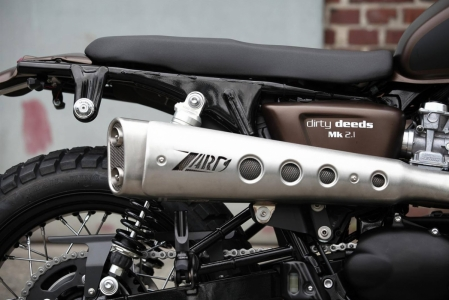 JVB Rumbler kit Bonneville/Scrambler NO CUT - 7