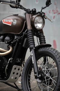 JVB Rumbler kit Bonneville/Scrambler NO CUT - 9