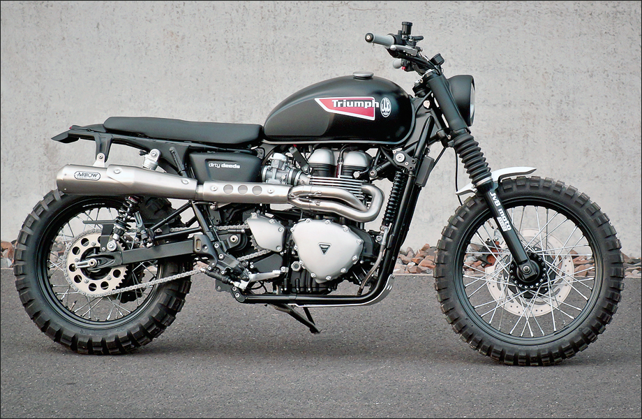 JVB Rumbler kit Bonneville/Scrambler NO CUT