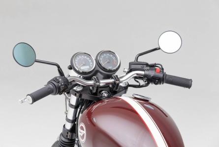 Sport Bar Lsl 25mm Black Bonneville Scrambler Thruxton Moto