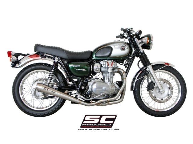 Exhaust Two In One SC Kawasaki W800