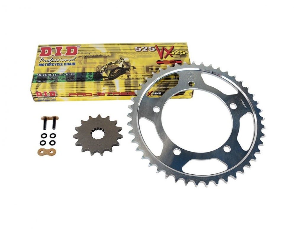 Triumph 865 Bonneville Tool T100 04-16 DID Upgrade Chain And Sprocket Kit