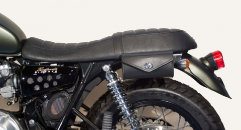 Pocket Left Side Tool Bag Black Bonneville Scrambler Thruxton
