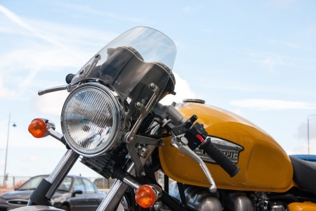 dart fly screen Thruxton 900