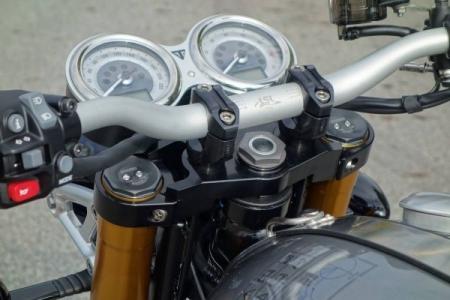 Thruxton 1200 R High Handlebar Kit Lsl Bonneville Scrambler
