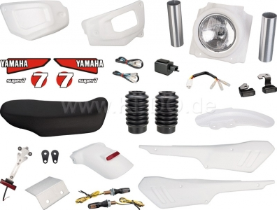 JvB Moto Super7 Yamaha XSR700 Basic Kit - 3