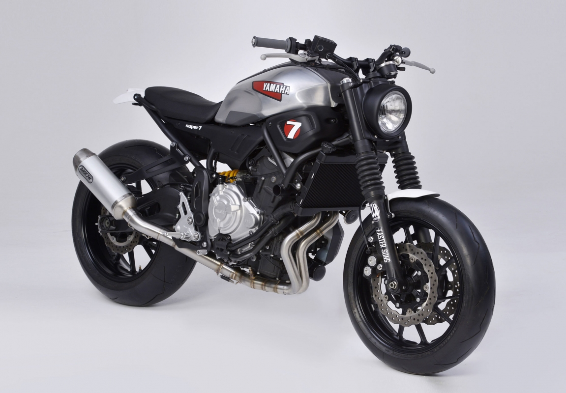 JvB Moto Super7 Yamaha XSR700 Basic Kit