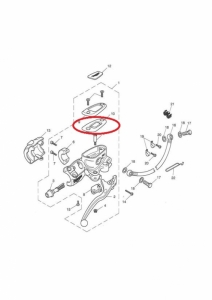brake pump gasket cover