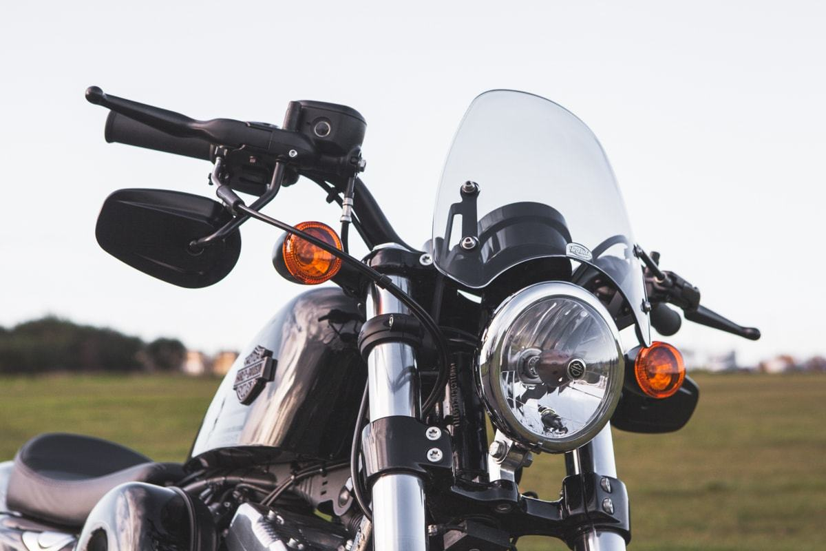 Dart flyscreen Harley Davidson XL 1200 Forty Eight
