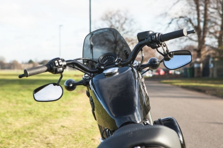 Dart flyscreen Harley Davidson XL 1200 Forty Eight - 4