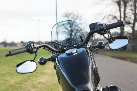 Dart flyscreen Harley Davidson XL 1200 Forty Eight - 9