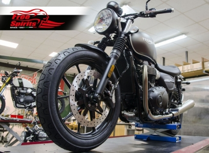 Kit upgrade freno anteriore (340 mm) per Triumph Street Twin e Street Scrambler dal 2019 - 2