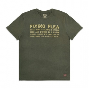 Flying Flea T- shirt Royal Enfield