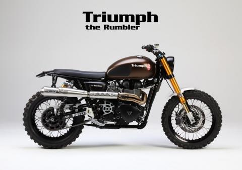 Body Kit Jvb Rumbler Bonneville Scrambler Thruxton Moto Triumph